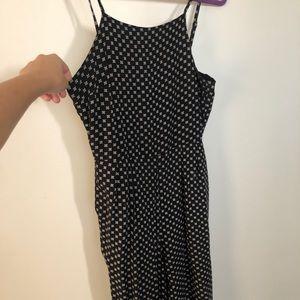 Minkpink black & white jumpsuit